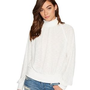 Free People Boulevard High Neck Thermal Top
